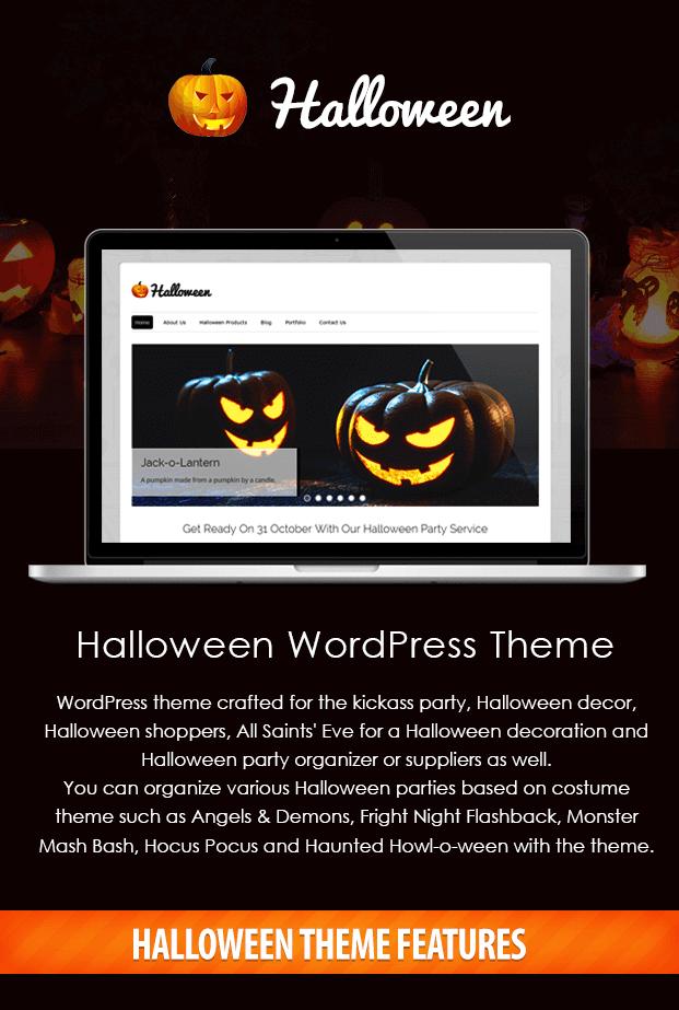 Halloween – Halloween Store WordPress Theme