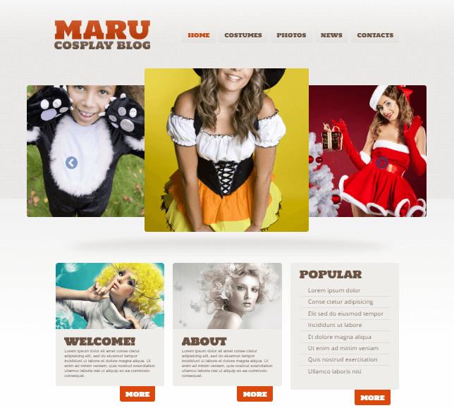Halloween Responsive WordPress Theme