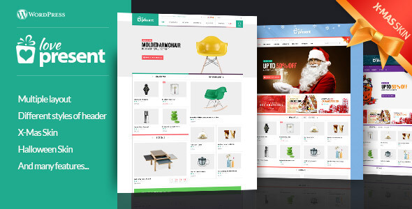 Present Pro Giftshop WordPress Theme