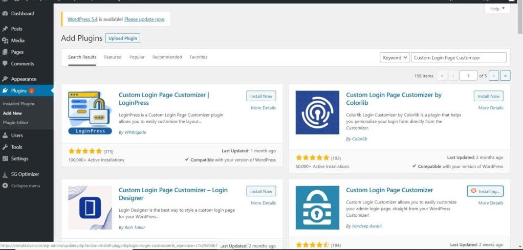Customize Login Page With Custom Login Page Customizer Plugin 4 1