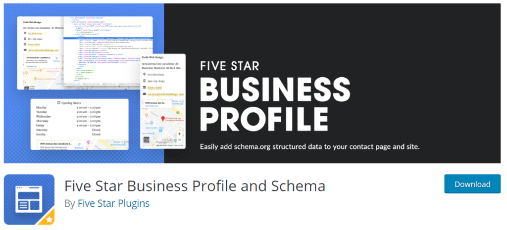 Five Star Business Profile And Schema By Five Star Plugins