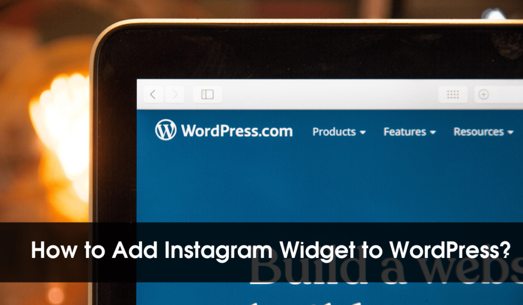 How To Add Instagram Widget To WordPress