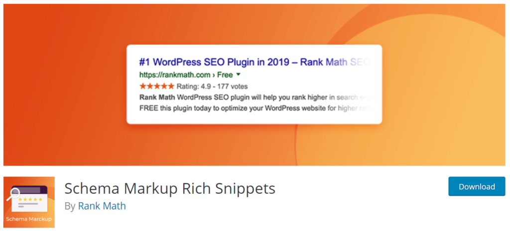 Schema Markup Rich Snippets By Rank Math
