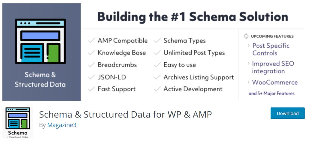 Schema Structured Data For