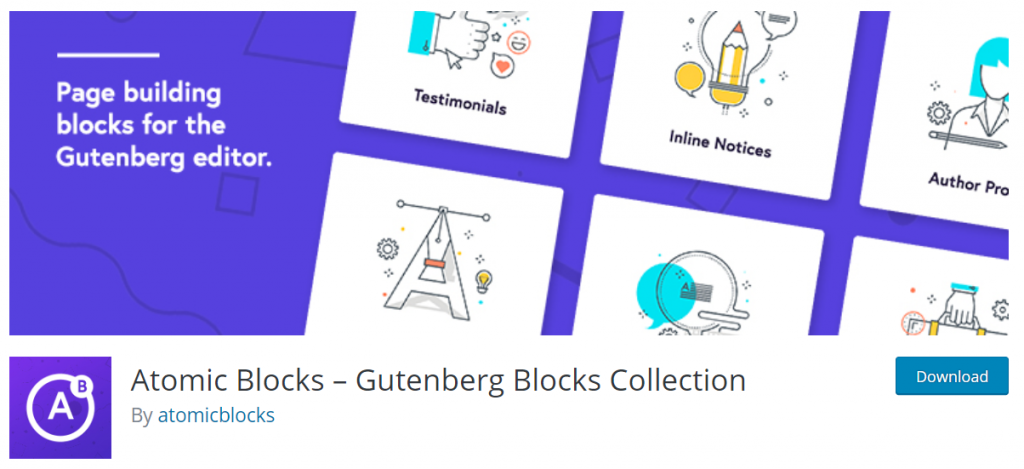Atomic Blocks – Gutenberg Blocks Collection By Atomicblocks