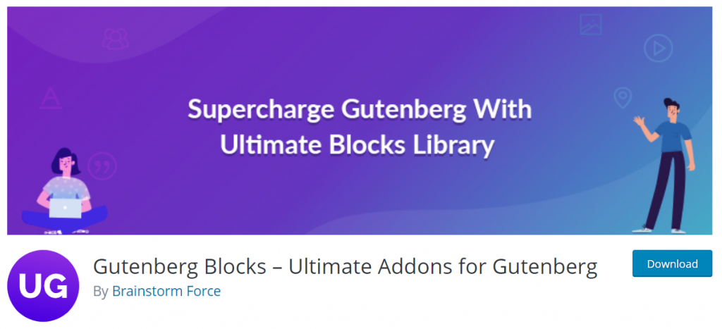 Gutenberg Blocks Ultimate Addons For Gutenberg By Brainstorm Force