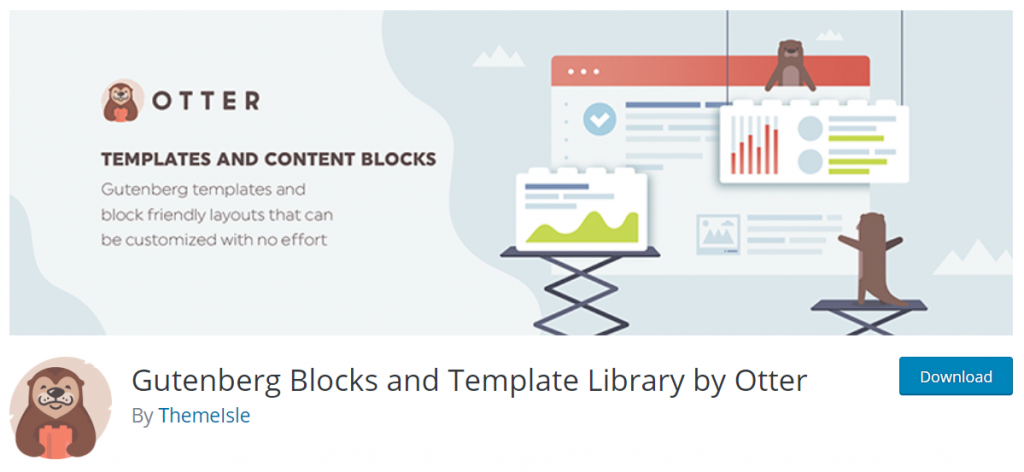 Gutenberg Blocks And Template Library By Otter By Themelsle