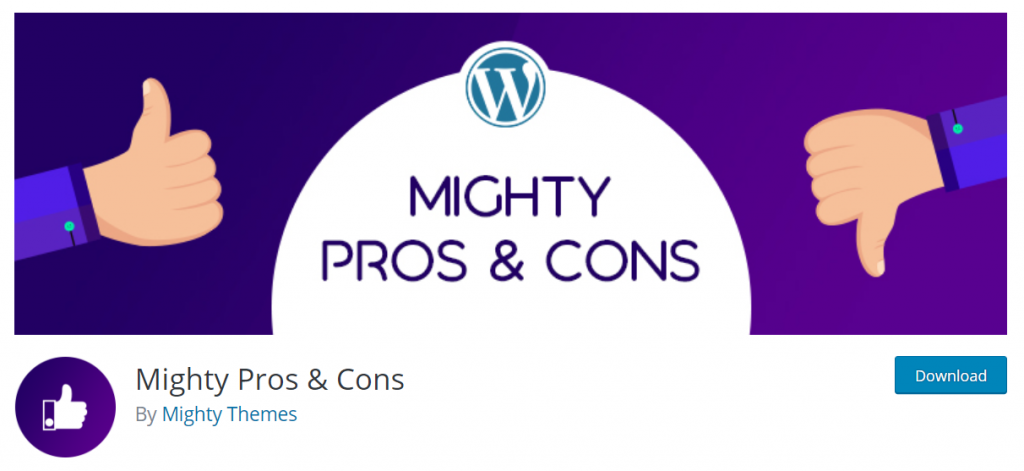 Mighty Pros & Cons By Mighty Themes