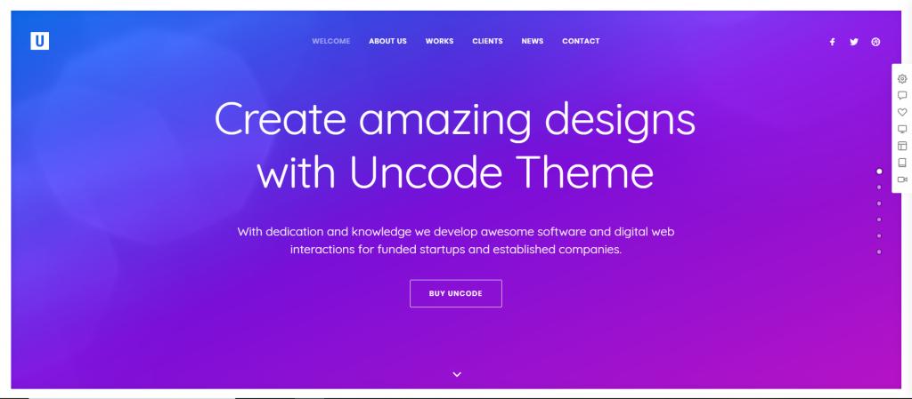 Uncode Creative Multiuse