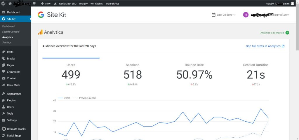 Connect Google Analytics To WordPress With Site Kit By Google